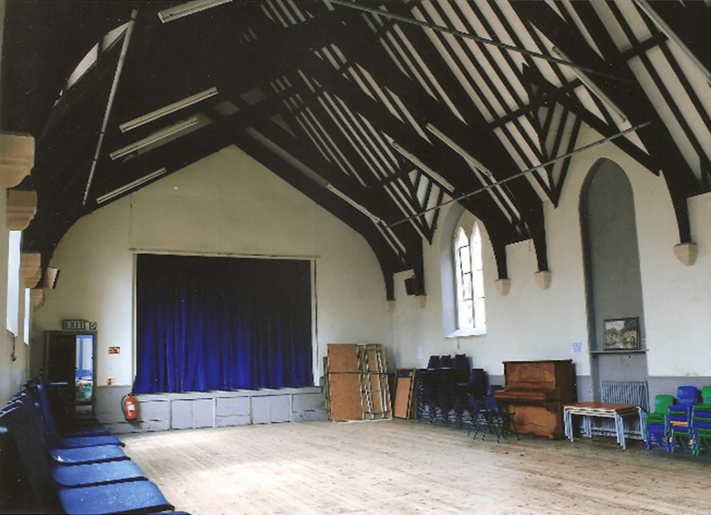 Inside of Hall and Stage