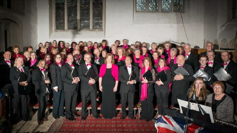 Group photo of Viva Voices choir