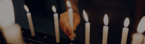 Thy Kingdom Come Slider Candles