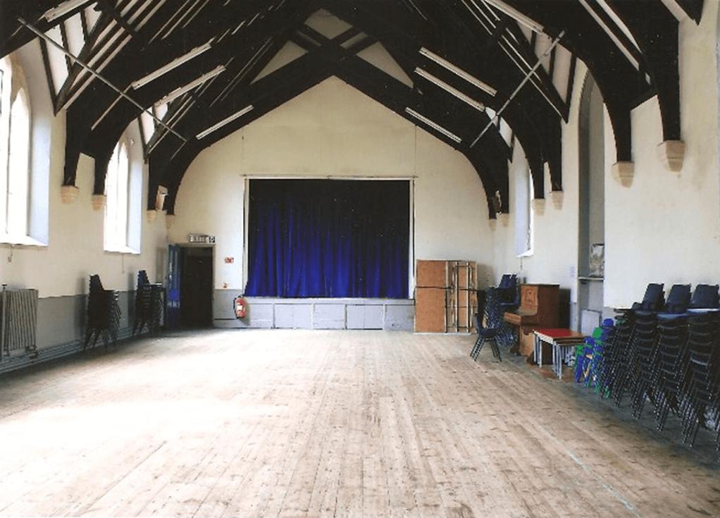 Inside of Hall